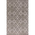 "Kas Impressions 5'3"" X 7'7"" Pewter Sterling Area Rug - Item Number: IMR461733X53"