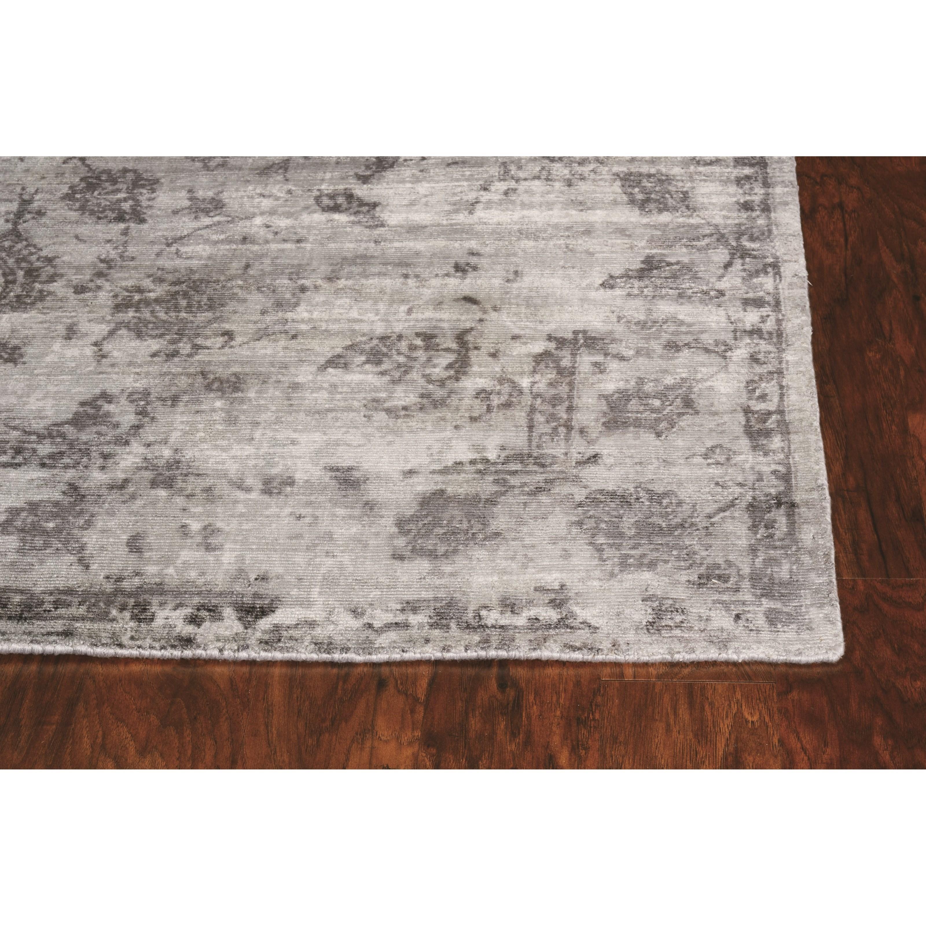 "IND 3'3"" x 5'3"" Grey Vintage Rug by Kas at Darvin Furniture"