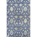 Kas Jaipur 5' X 8' Azure Blue Artisan Area Rug - Item Number: JAI38705X8