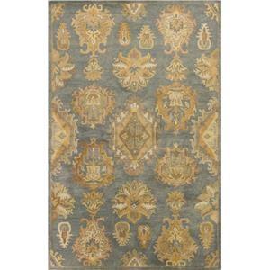 Kas Jaipur Gold Mandala 5' x 8' Rug
