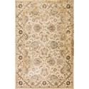 """Kas Jasmine 5'3"""" X 7'7"""" Ivory Traditions Area Rug - Item Number: JAS375853X77"""