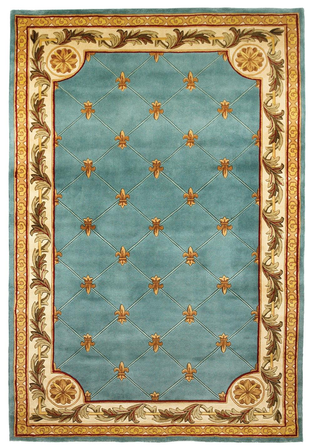 "Kas Jewel 9'6"" x 13'6"" Rug - Item Number: JEW030596X136"