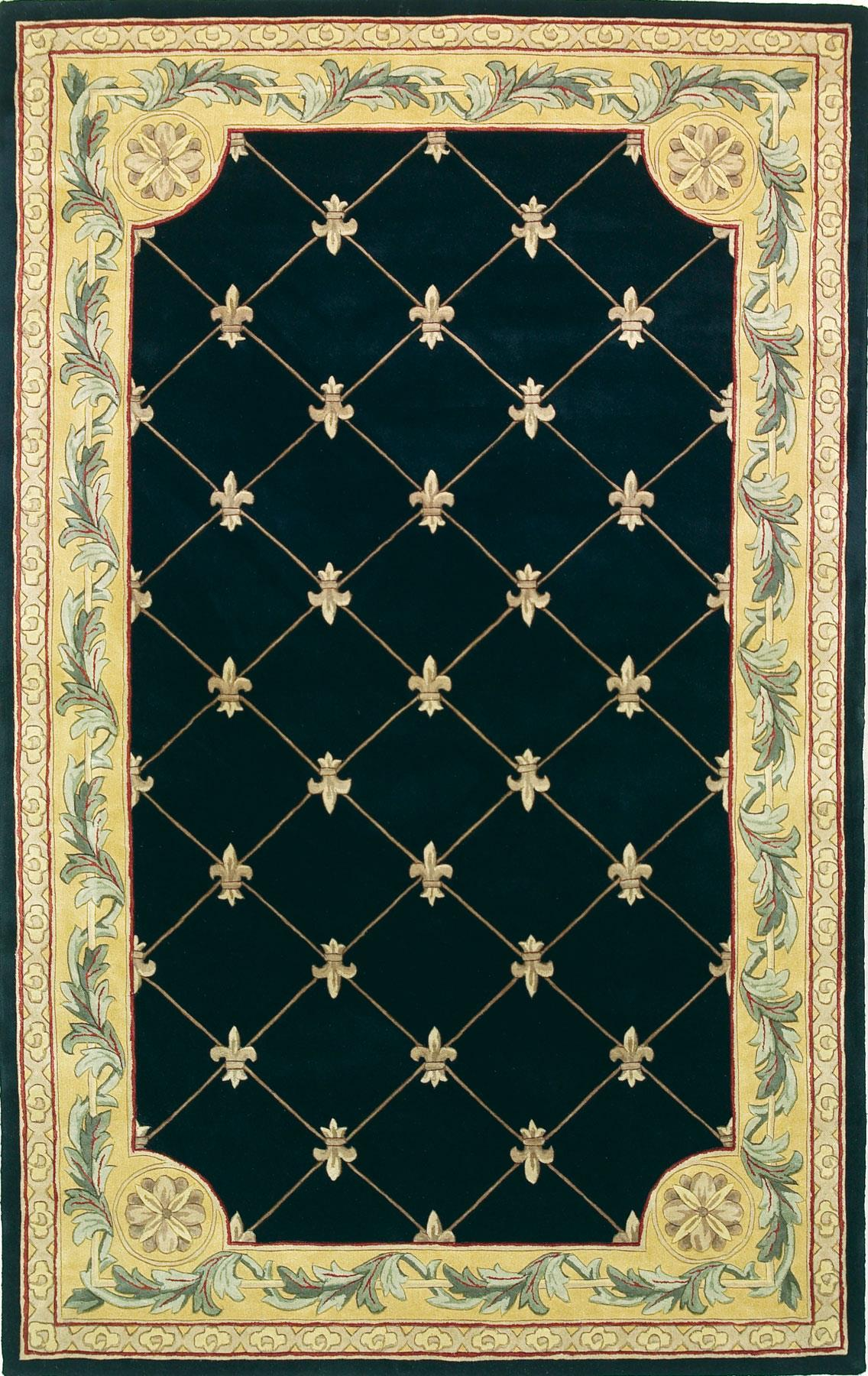 "Kas Jewel 5'3"" x 8'3"" Rug - Item Number: JEW030753X83"