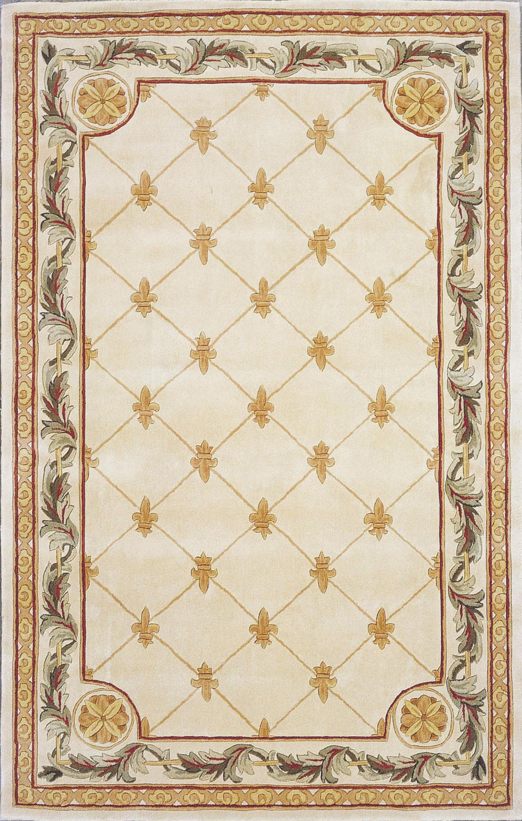 "Kas Jewel 5'3"" x 8'3"" Rug - Item Number: JEW031053X83"