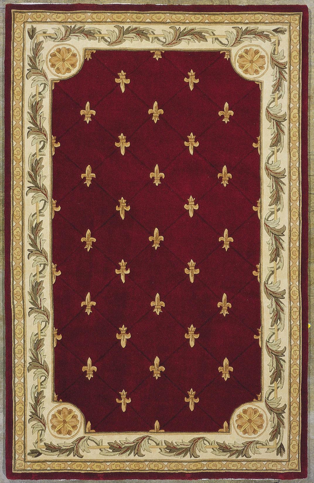 "Kas Jewel 5'3"" x 8'3"" Rug - Item Number: JEW031153X83"