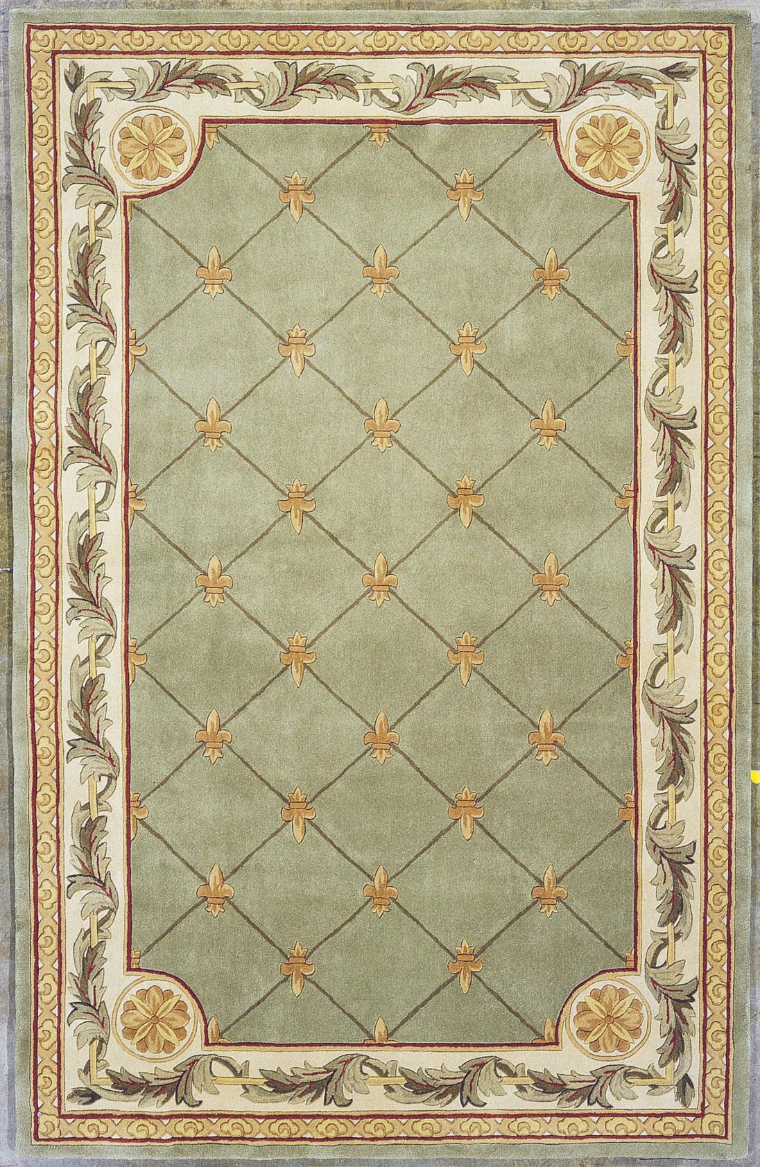 "Kas Jewel 7'9"" x 9'6"" Rug - Item Number: JEW031379X96"