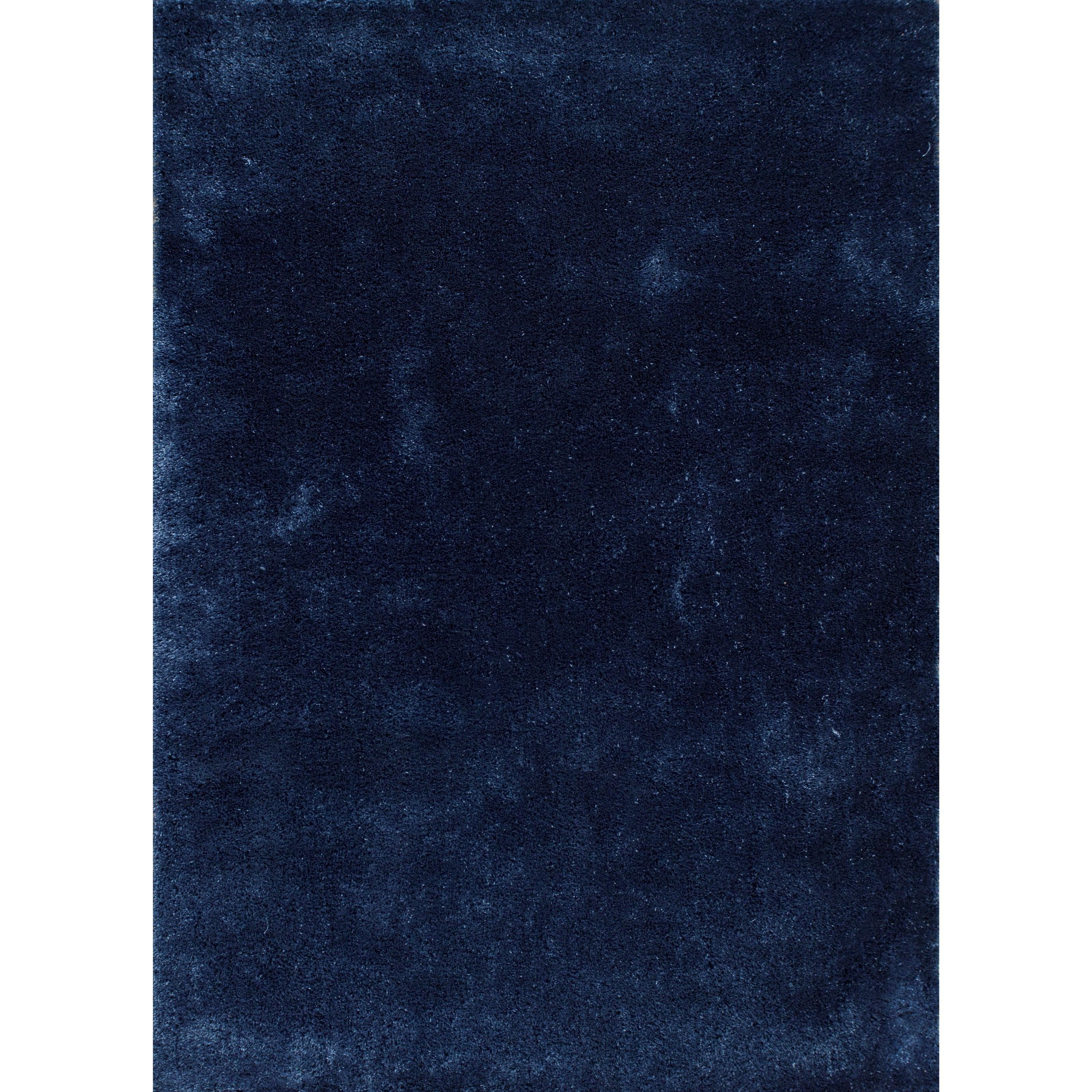 """7'6"""" X 9'6"""" Indigo Blue Area Rug"""