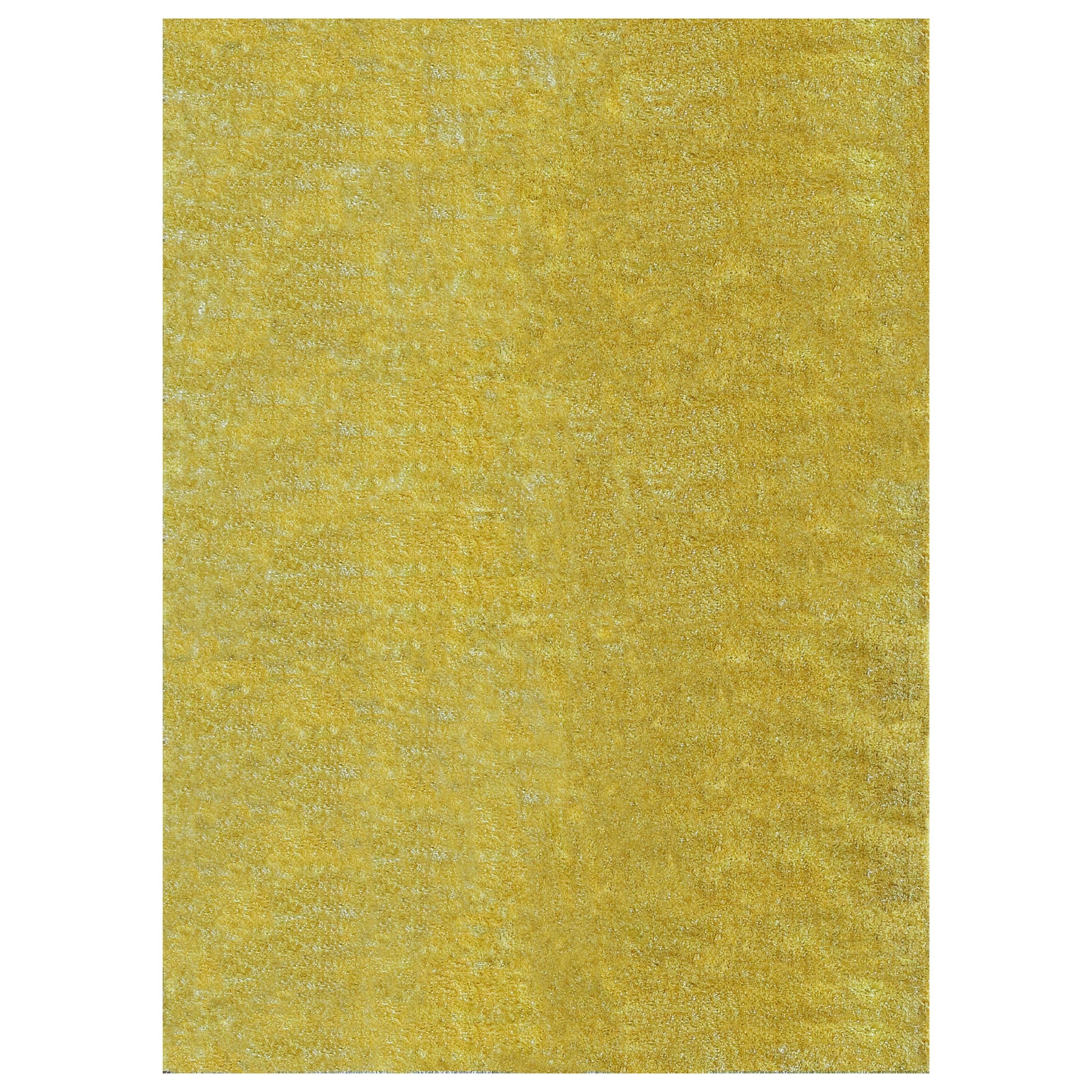"3'3"" X 5'3"" Marigold Yellow Area Rug"
