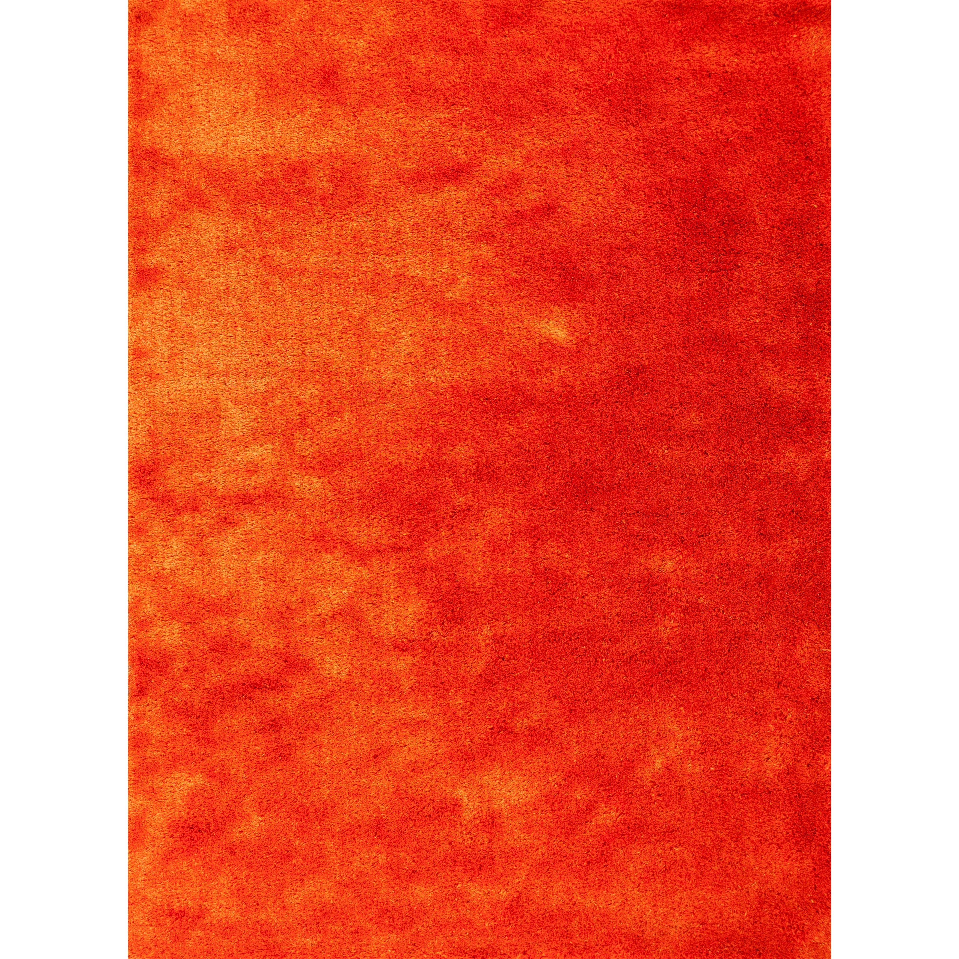 5' X 7' Sunset Orange Area Rug