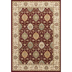 "Kas Kingston 8'9"" X 13' Ruby/Ivory Rania Area Rug"