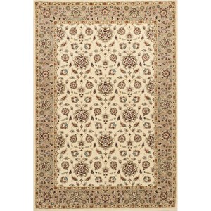 "Kas Kingston 3'3"" X 4'11"" Ivory/Beige Mahal Area Rug"