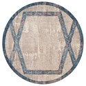 "Kas Libby Langdon Winston 6'6"" Round Rug - Item Number: LLW581666X66RO"