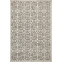 "Kas Lucia 3'3"" X 4'11"" Grey Bentley Area Rug - Item Number: LUC275433X411"