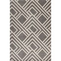 "Kas Lucia 7'7"" X 5'3"" Area Rug - Item Number: LUC276453X77"