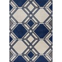 "Kas Lucia 7'7"" X 5'3"" Area Rug - Item Number: LUC276853X77"
