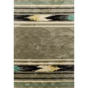 "Kas Mission 5'3"" X 3'3"" Area Rug - Item Number: MIS445933X53"