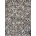 "Kas Montecarlo IV 2' X 3'7"" Taupe Vintage Damask Area Rug - Item Number: MNA51182X37"