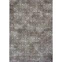 "Kas Montecarlo IV 5'3"" X 7'7"" Taupe Vintage Damask Area Rug - Item Number: MNA511853X77"