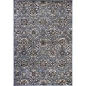 "Kas Montecarlo IV 5'3"" X 7'7"" Silver Allover Tabriz Area Rug - Item Number: MNA519353X77"