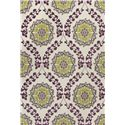 """Kas Mulberry 27"""" x 45"""" Rug - Item Number: MUL340327X45"""