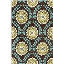 "Kas Mulberry 27"" x 45"" Rug - Item Number: MUL340627X45"