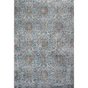 "Kas Provence 2'2"" X 3'7"" Slate Blue Allover Kashan Area R - Item Number: PRO860722X37"