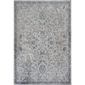 """Kas Provence 5'3"""" X 7'7"""" Silver/Blue Mahal Area Rug - Item Number: PRO861353X77"""