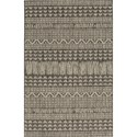 "Kas Provo 2'7"" x 3'11"" Charcoal Tribe Rug - Item Number: PRV576127X311"
