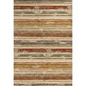 """Kas Reflections 4'11"""" X 2'7"""" Area Rug - Item Number: REF740427X411"""