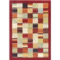 """Kas Reflections 2'7"""" x 4'11"""" Rug - Item Number: REF741927X411"""
