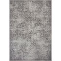 "Kas Reflections 6'7"" X 9'6"" Grey Vintage Area Rug - Item Number: REF742767X96"