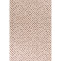 """Kas Reflections 2'7"""" X 4'11"""" Taupe Greek Key Area Rug - Item Number: REF743327X411"""