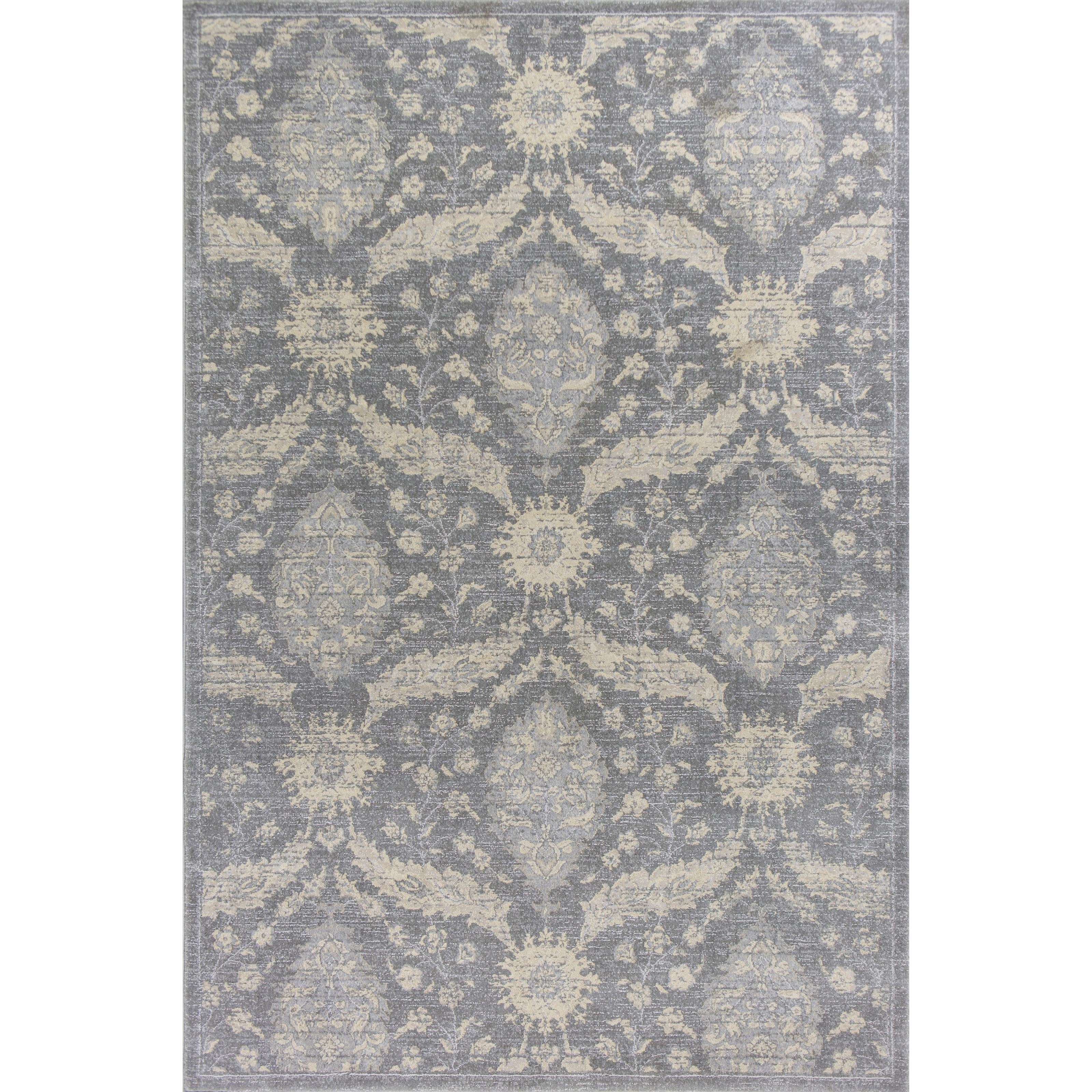 """Kas Relic 4'11"""" X 3'3"""" Area Rug - Item Number: REL710033X411"""