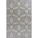 "Kas Relic 4'11"" X 3'3"" Area Rug - Item Number: REL710033X411"