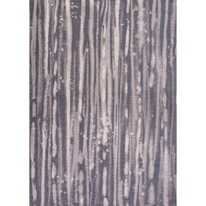 "Kas Retreat 6'7"" X 9'6"" Charcoal Visions Area Rug"