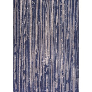 "Kas Retreat 2'6"" X 3'9"" Navy Visions Area Rug"