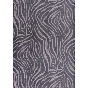 "Kas Retreat 2'6"" X 3'9"" Charcoal Sahara Area Rug"