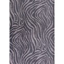 "Kas Retreat 2'6"" X 3'9"" Charcoal Sahara Area Rug - Item Number: RET010526X45"