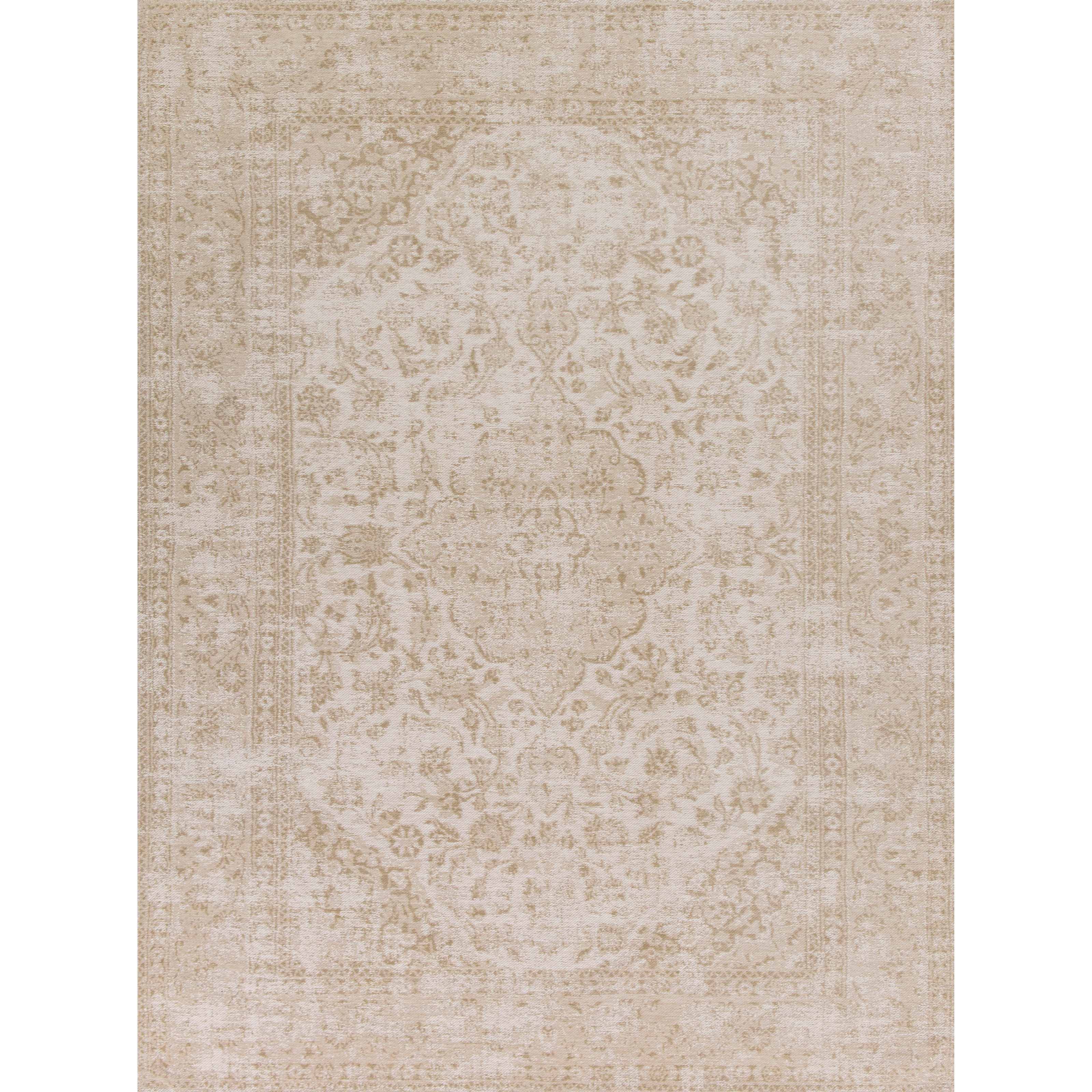 "Kas Retreat 2'6"" X 3'9"" Champagne Rania Area Rug - Item Number: RET011026X45"