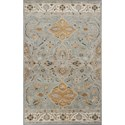 "Kas Samara 3'3"" X 5'3"" Slate Grey Marrakesh Area Rug - Item Number: SAM360133X53"