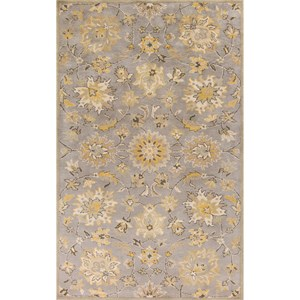 "Kas Samara 8'6"" X 11'6"" Grey Brighton Area Rug"