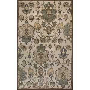 Kas Syriana 5' X 8' Beige Tapestry Area Rug