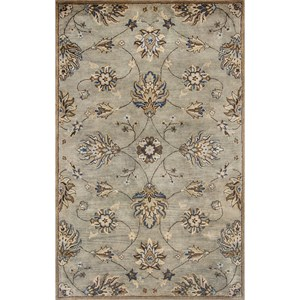 "Kas Syriana 3'3"" X 5'3"" Grey Allover Kashia Area Rug"