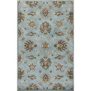 "Kas Syriana 2'3"" X 7'6"" Blue Allover Kashia Area Rug"
