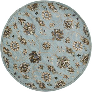 Kas Syriana 5'6' X 5'6' Blue Allover Kashia Area Rug