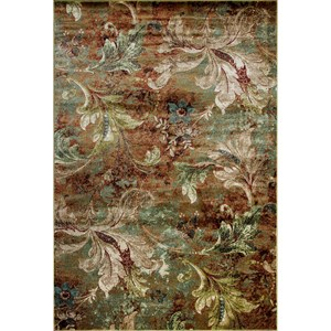 "Kas Versailles 7'10"" X 11'2"" Multi Heirloom Area Rug"