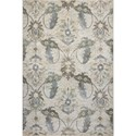 """Kas Zarepath 3'3"""" X 4'11"""" Ivory Tapestry Area Rug - Item Number: ZAR750533X411"""