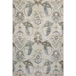"Kas Zarepath 5'3"" X 7'8"" Ivory Tapestry Area Rug"