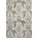 """Kas Zarepath 8'9"""" X 13' Ivory Tapestry Area Rug - Item Number: ZAR750589X13"""