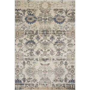 "Kas Zarepath 2'2"" X 7'11"" Ivory Elements Area Rug"